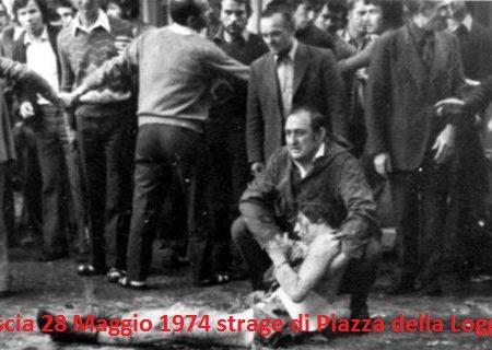 STRAGE DI PIAZZA DELLA LOGGIA:BRESCIA,  28 MAGGIO 1974