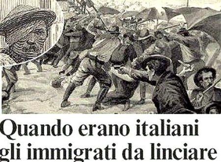 """Quando gli """"immigrati"""" erano italiani."""